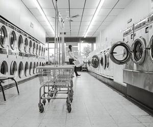 Equipamiento básico en una lavandería