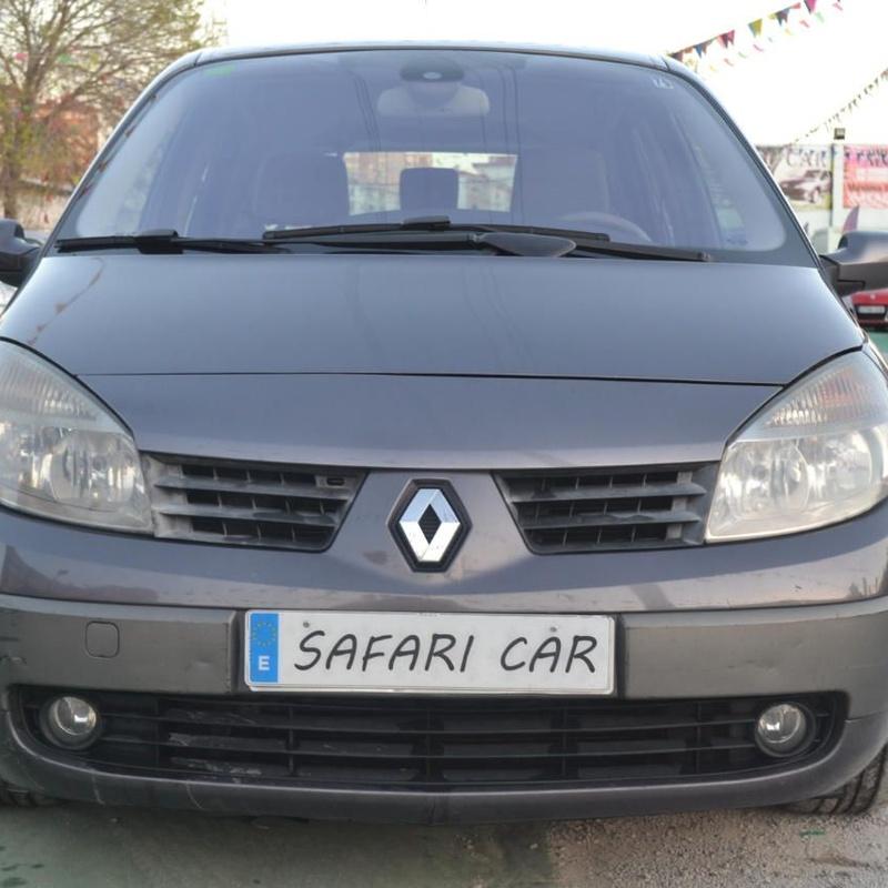 Renault Scénic II 1.9DCI Confort Dynamique: Nuestros coches de Safari Car
