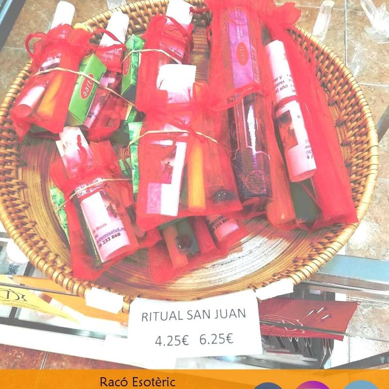 Ritual San Juan: Cursos y productos de Racó Esoteric Font de mi Salut