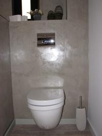 Instalación de wc en baño