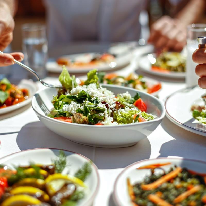Ensaladas: Carta de Vera Restaurante