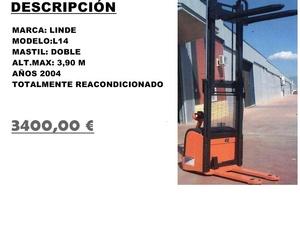 APILADOR LINDE L14 1400 KG