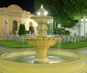 Cenas en el jardín del Restaurante La Casona en Córdoba