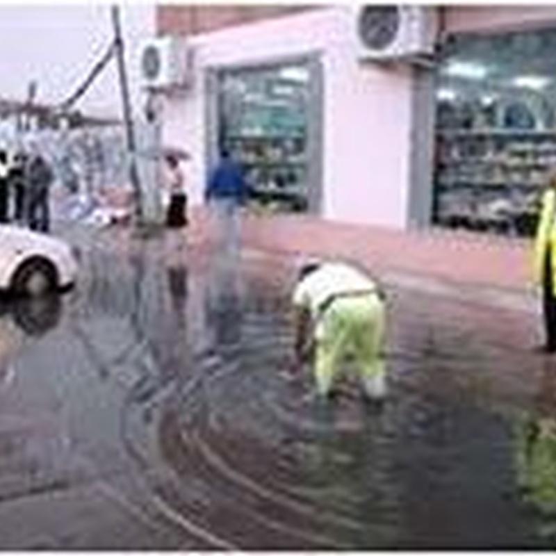 Aspiración y achiques de agua: Servicios de Desatascos Mario López