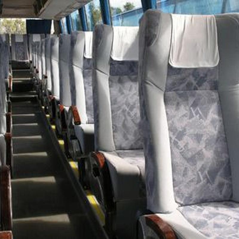 Alquiler de autocares: Servicios de Autocares y Microbuses Nievabus