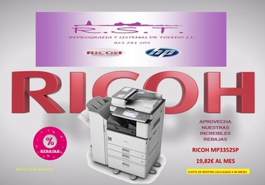 RICOH MP3352
