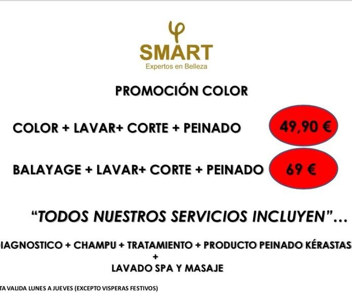 promocion color SMART expertos belleza