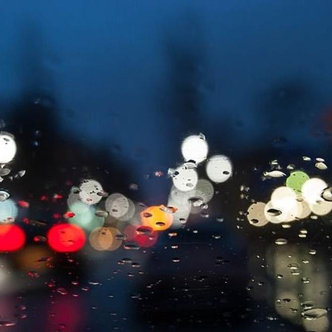 Cuatro consejos para conducir con lluvia