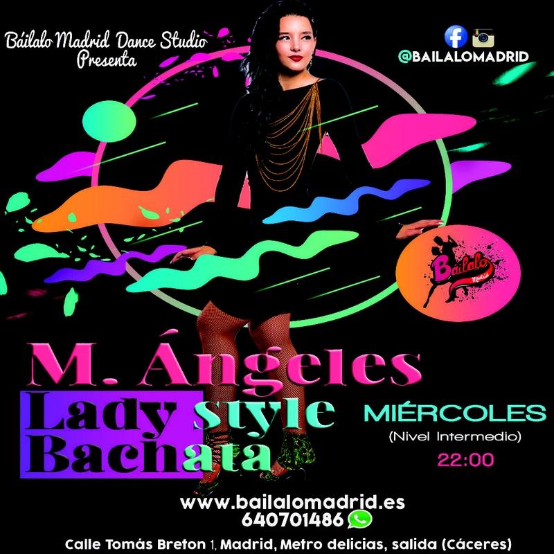 Clases de LADY STYLE (BACHATA): Clases de Baile Online de Báilalo Madrid