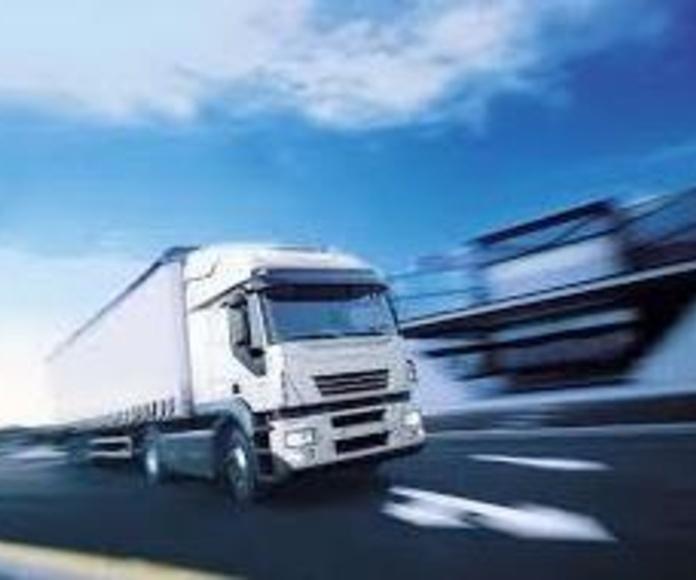 Transportes : Transportes y almacenaje  de Eje-Trans, S.A.