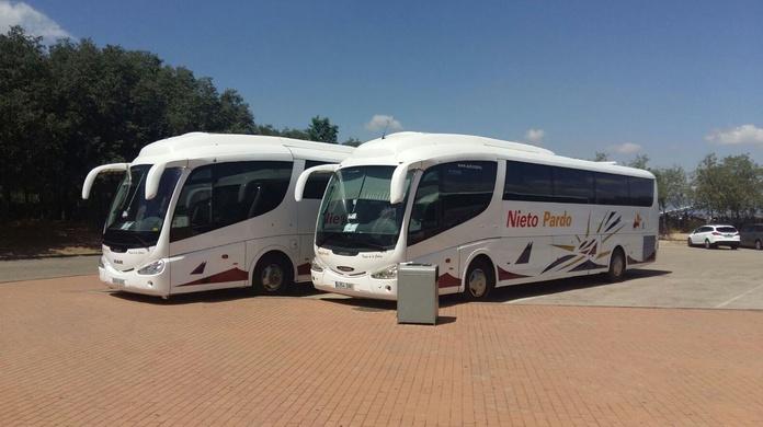 Autobuses para bodas: Servicio  de Autocares Nieto Pardo
