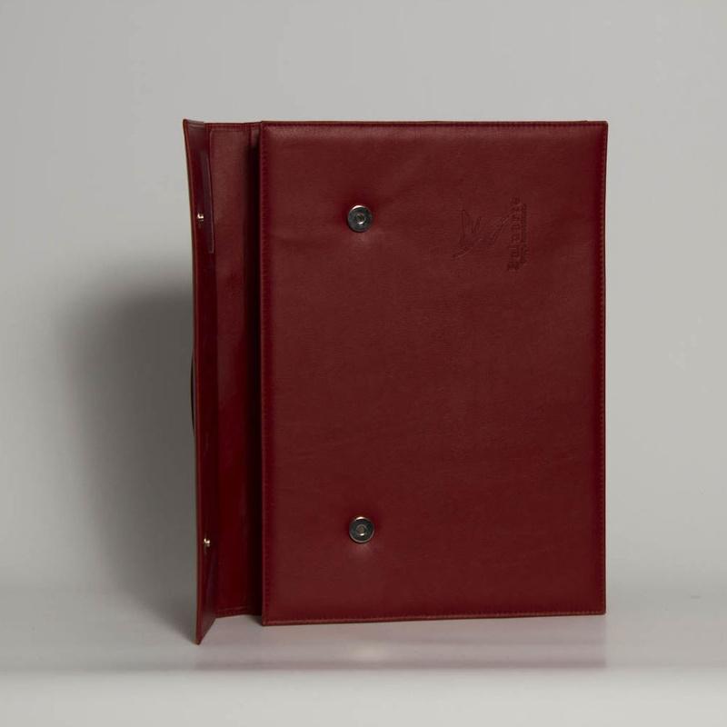Carpeta De Mano PD-00155: Catálogo de M.G. Piel