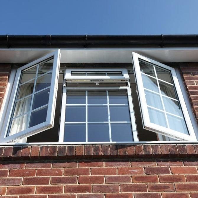 Tipos de ventanas de aluminio o pvc según su apertura