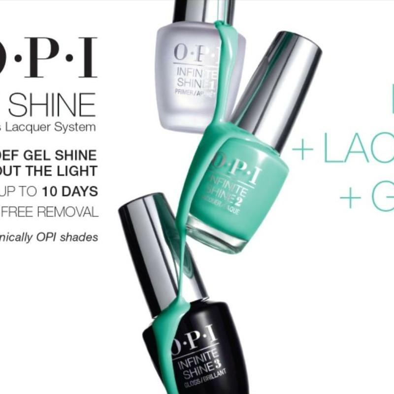 Manicura y Pedicura Infinite Shine: Tratamientos y Productos  de Chic Beauty Center
