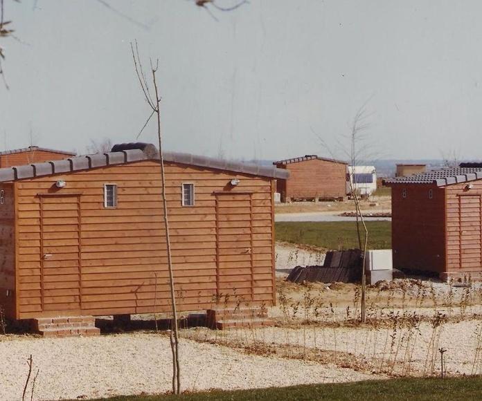Modulo aseos camping