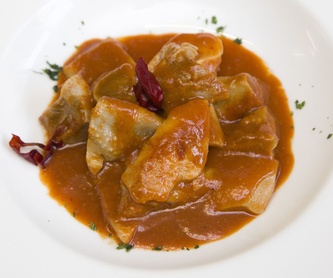 Menú Artebakarra: Cartas y menús de Restaurante Artebakarra