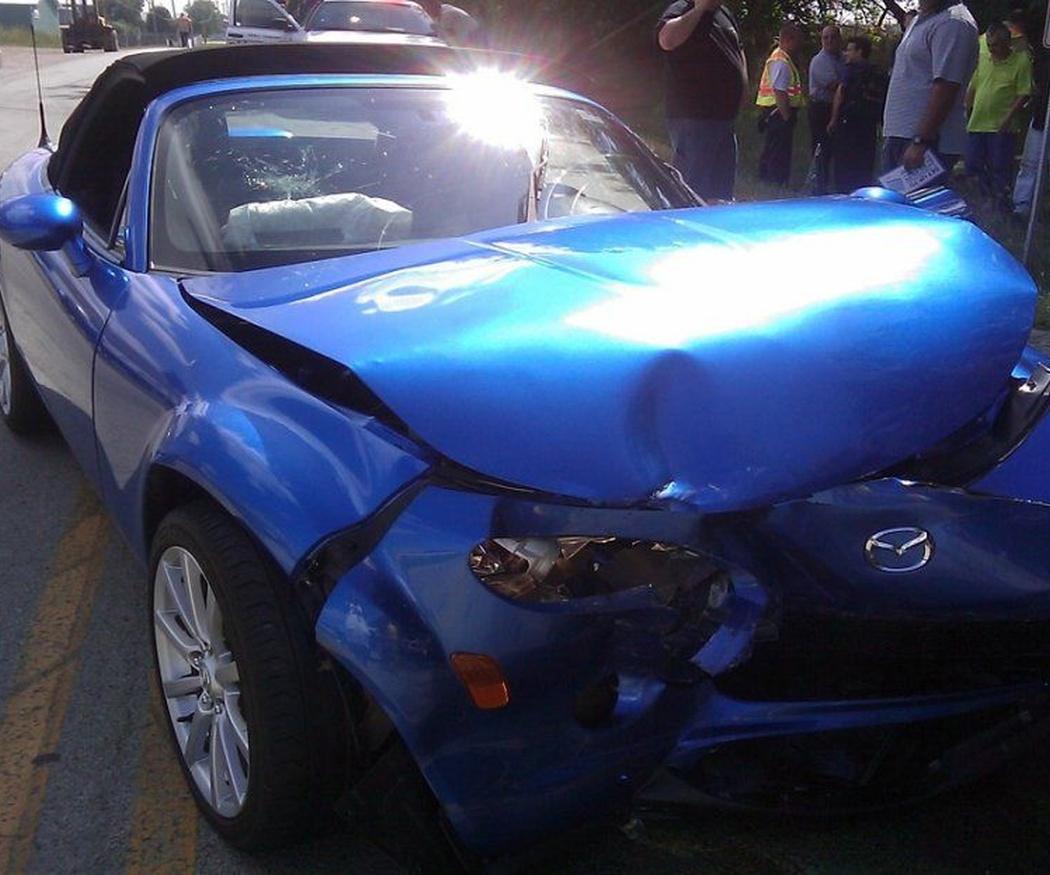 ¿Cómo actuar en caso de accidente de coche?