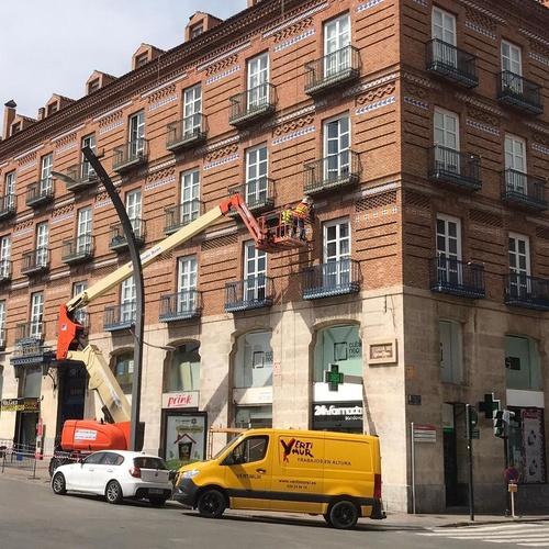 Rehabilitacion de fachadas de edificios en Murcia