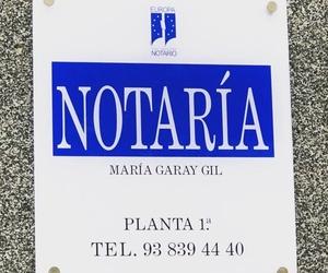 Poder notarial Sant Antoni, Barcelona   Notaría María Garay Gil