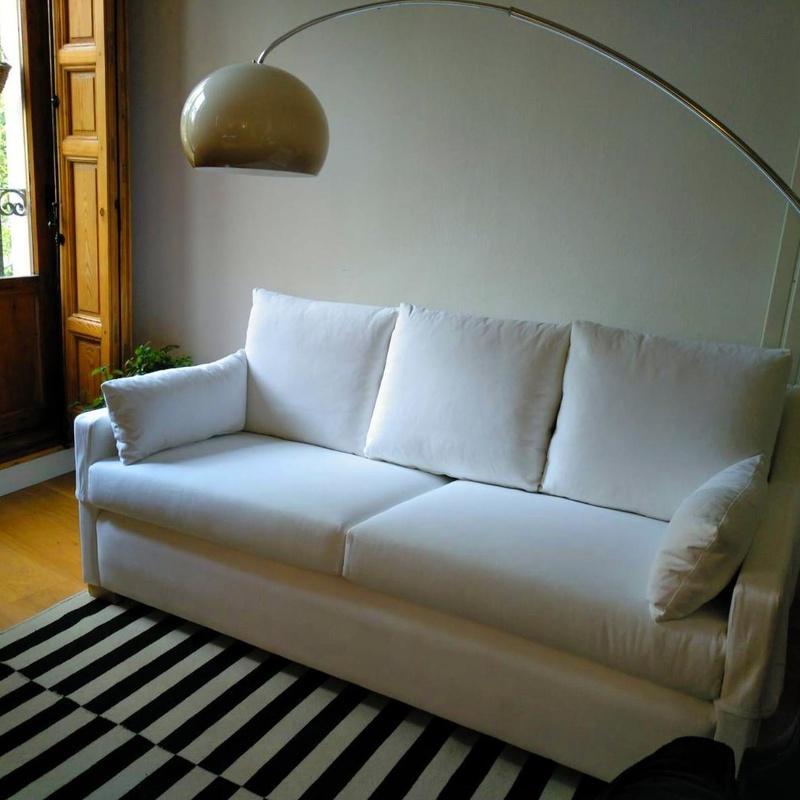 Tapizado sofá a medida en Madrid Centro