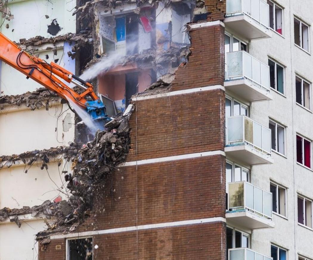 Hay diferentes herramientas para realizar una demolición