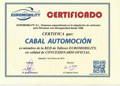 Cabal Automoción concesionario exclusivo para Asturias Euromobility