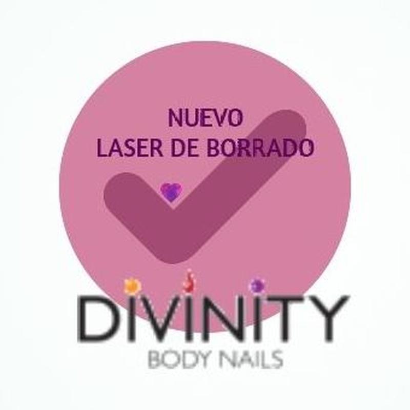 LÁSER DE BORRADO DE MICROBLADING: Servicios de Divinity Body Nails