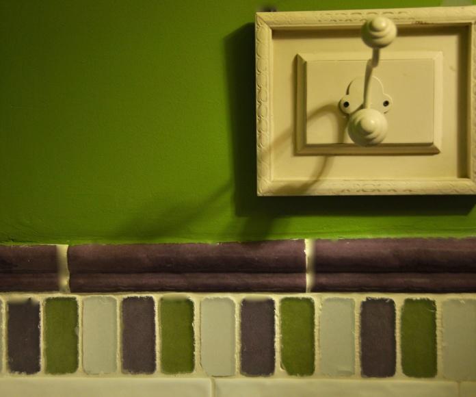 Detalle cuarto de baño Ordesa