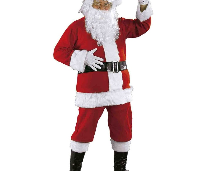 Disfraz Papá Noel Lujo