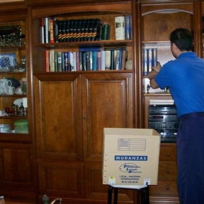 ¿Tienes muchos libros que trasladar?