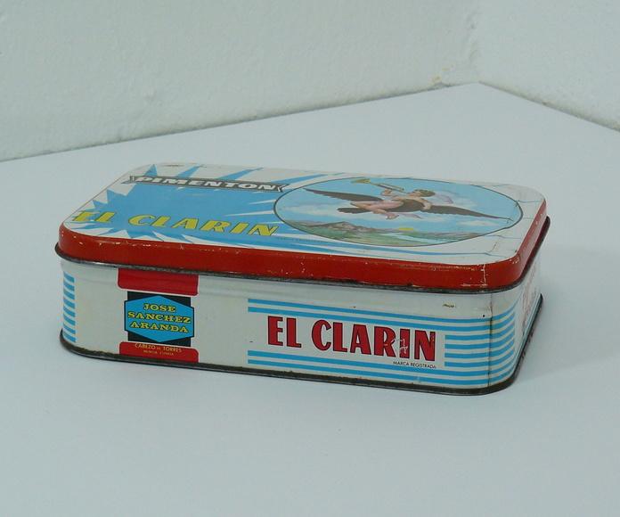 Lata de pimentón El Clarin: Artículos  de Ruzafa Vintage