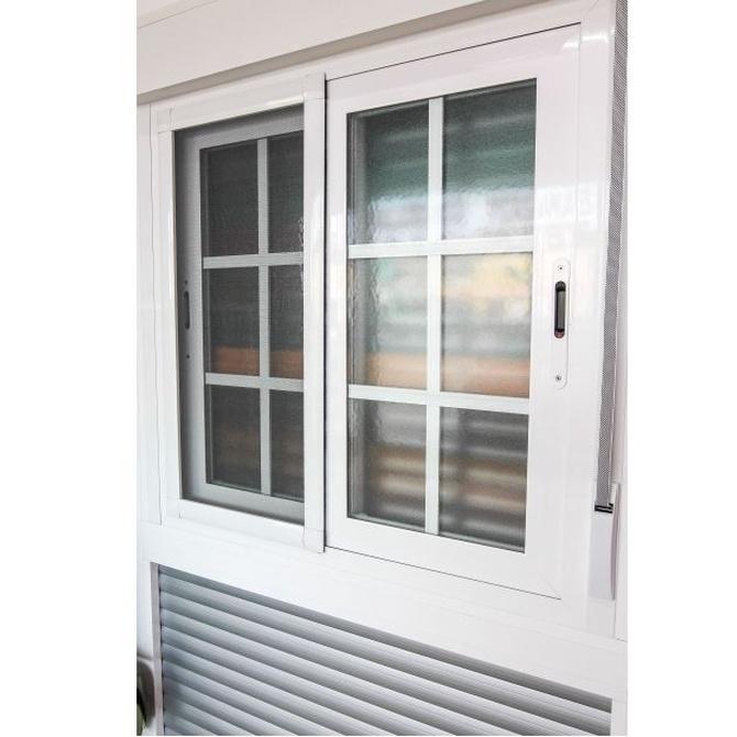 Características de las ventanas de aluminio