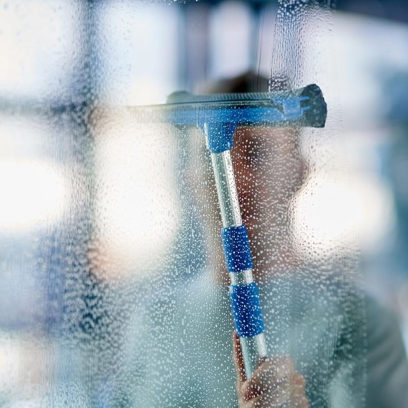 Limpieza de cristales: Servicios de Jardinería FG
