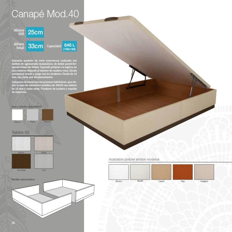 Canapés: Productos de Muebles Díaz