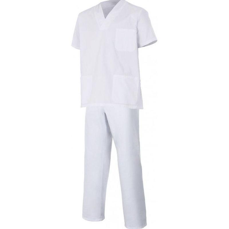 Conjunto sanitario unisex blanco: Catálogo de Frade Ropa de Trabajo