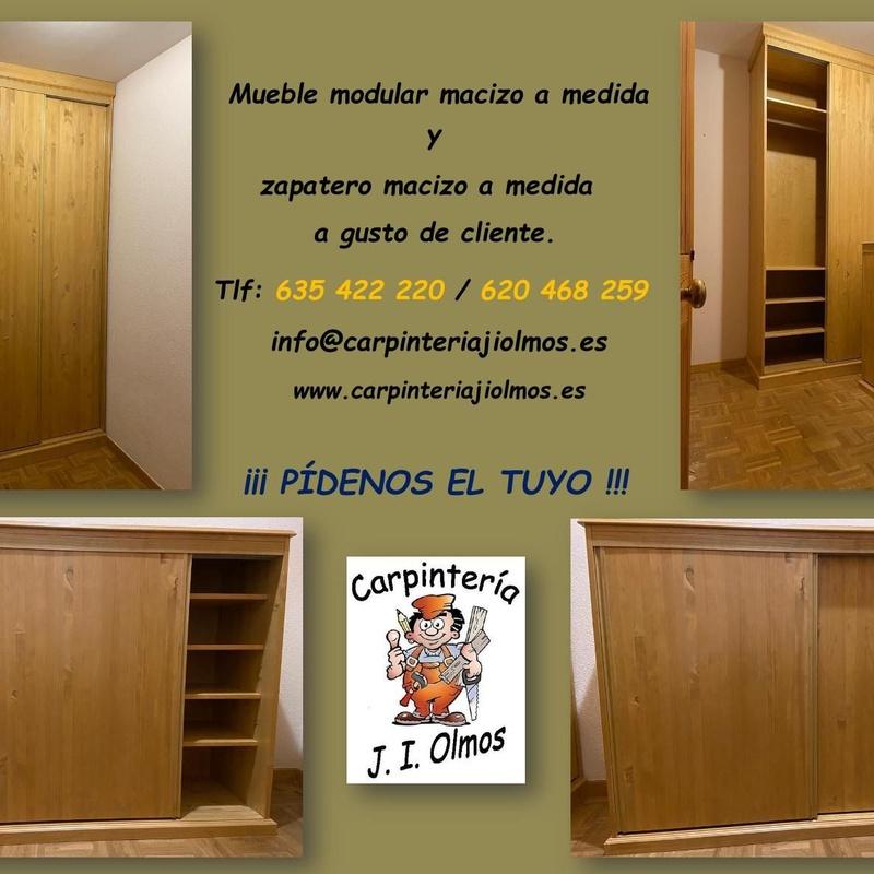 Composición de muebles: Servicios de Carpintería J. I. Olmos