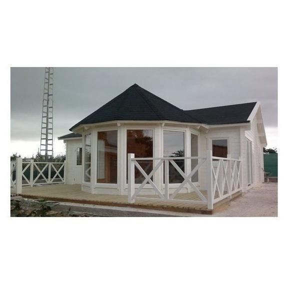 Daniela (115 m2): Casas de madera de 5SCC Casas de Madera