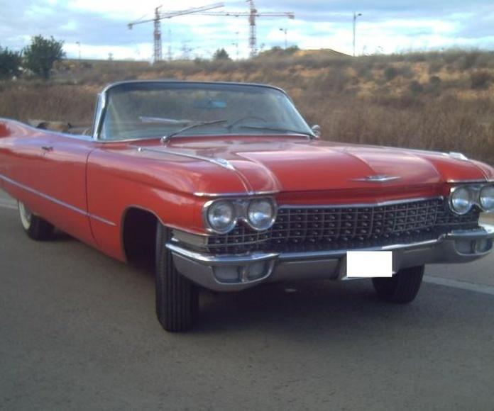 Cadillac Deville del 60: Trabajos de Rebeca Pulidos y Cromados