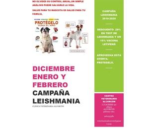 Campaña de leishmania