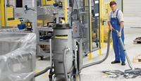 Alquiler de aspiradores industriales