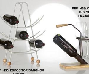 Expositores de vinos de diseño