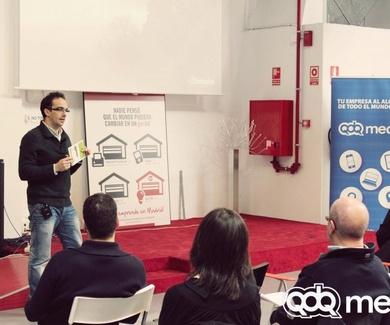 """""""De la inspiración a la transacción"""" Juan Carlos Milena de minube en Activa Internet en garAJE"""