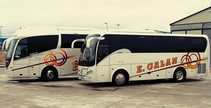 Flota de Vehículos: Servicios de Autocares Emilio Galán