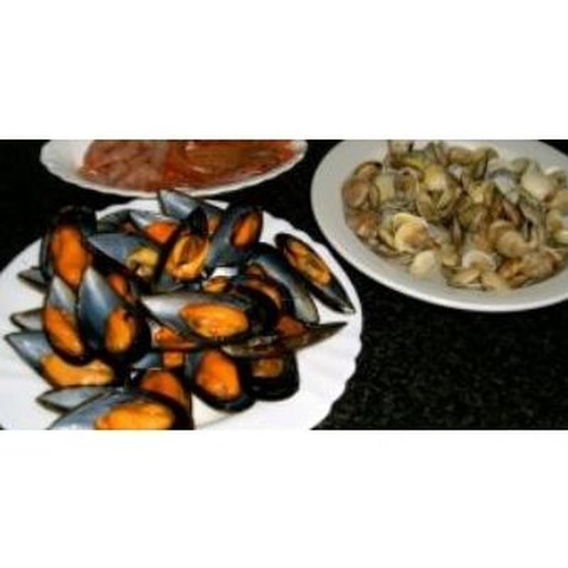 Mariscos : Cartas y menús  de Restaurante El Mirador