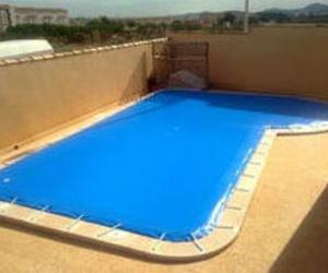 Lona cubre piscina San Javier |Sevimad