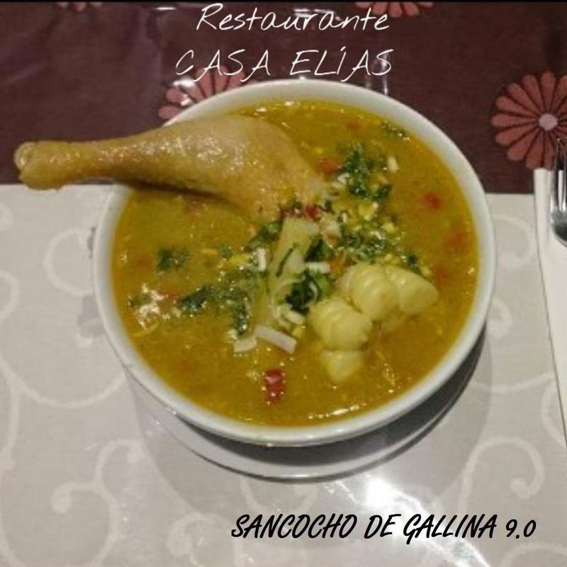 SANCOCHO DE GALLINA ECUATORIANA
