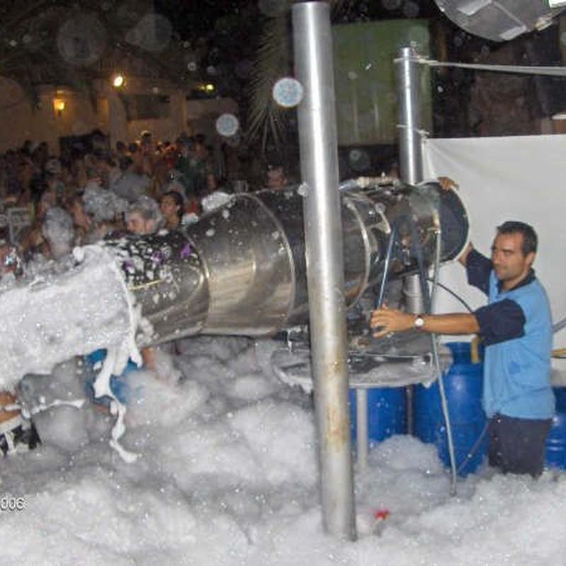 Fiesta de la espuma: Servicios de Mar Espectáculos