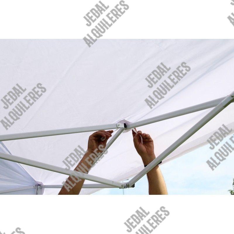 Carpa plegable 2X2 metros sin laterales: Catálogo de Jedal Alquileres