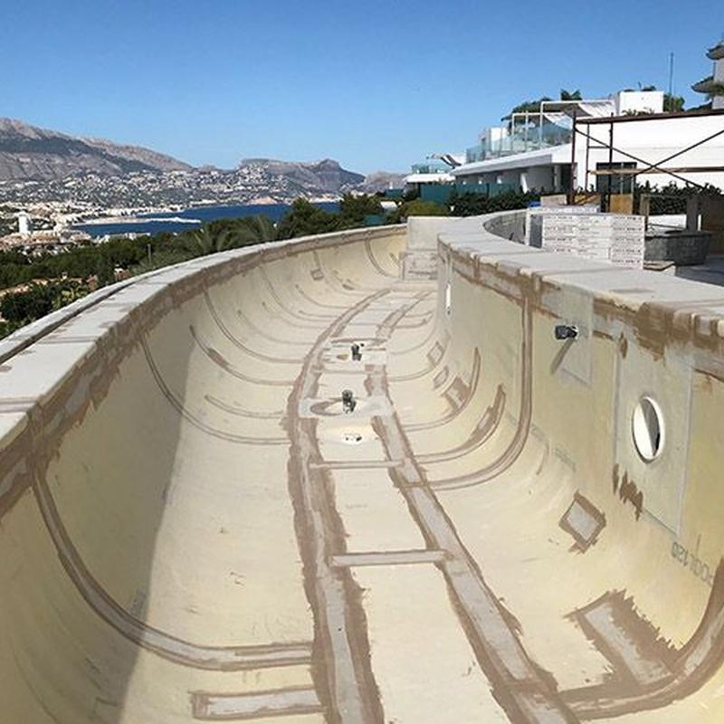 Aislamiento de piscinas: Servicios de Segura Sarria