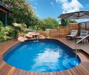 Coronación y solados para piscinas